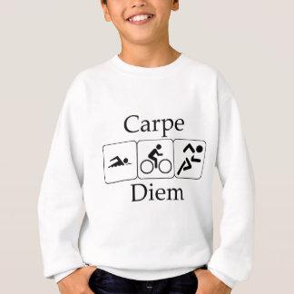 Carpe Diem Triathilon Sweatshirt