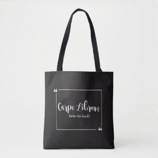 Carpe Librum Tote Bag