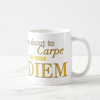 Carpe Me Some Diem Classic White Coffee Mug