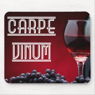 Carpe Vinum Mouse Pad
