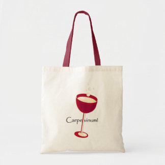 Carpe Vinum! Tote Bag