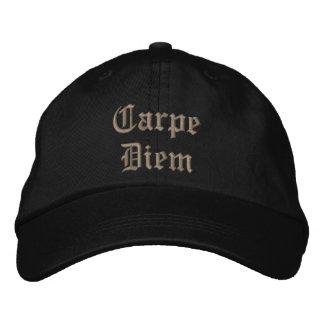 CarpeDiem Embroidered Hat