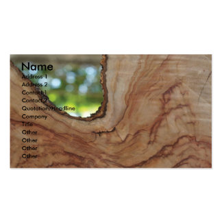 Carpenter Business Card Template