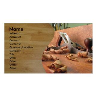 Carpenter Pack Of Standard Business Cards