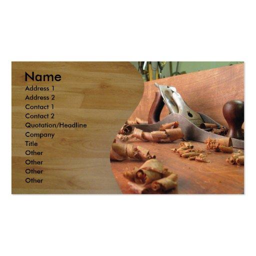 Carpenter Business Card Templates