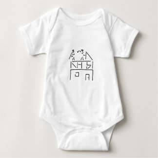 carpenter carpenter timber construction baby bodysuit