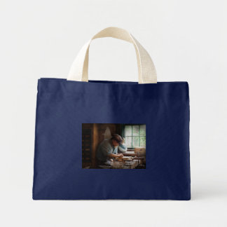 Carpenter - Carving the Figurehead Tote Bags