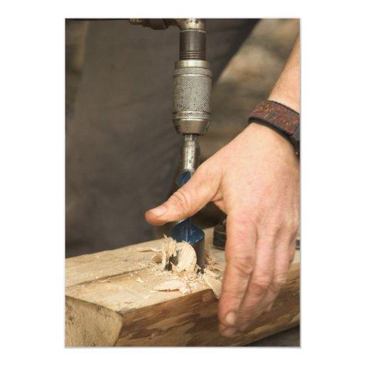 Carpenter Invitation