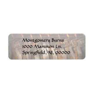 Carpenter  - Saws and Braces Return Address Label
