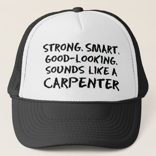Carpenter sound trucker hat