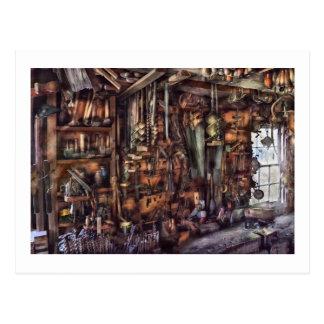 Carpenter - That's a lot of tools Postcard