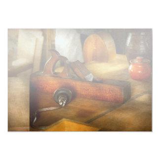 Carpenter - The humble shop plane 13 Cm X 18 Cm Invitation Card