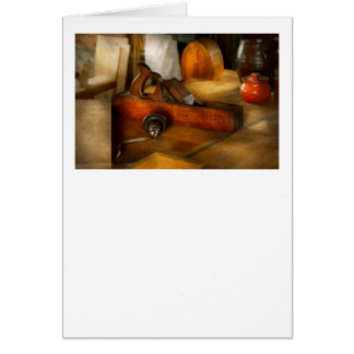 Carpenter - The humble shop plane Greeting Cards