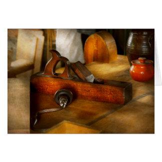 Carpenter - The humble shop plane Greeting Card