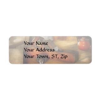 Carpenter - The humble shop plane Return Address Label