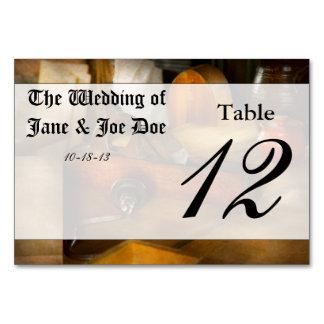 Carpenter - The humble shop plane Table Cards