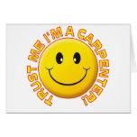 Carpenter Trust Me Greeting Card
