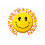 Carpenter Trust Me Post Card