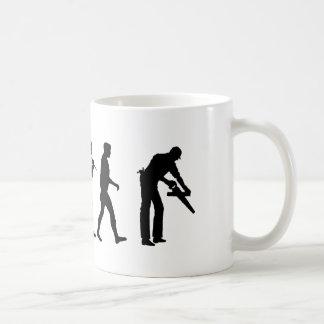 Carpenter woodworker set builder coffee mug