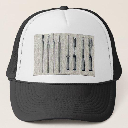 Carpenter's chisels Ukiyo-e. Trucker Hat