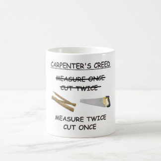 Carpenter's Creed Mug