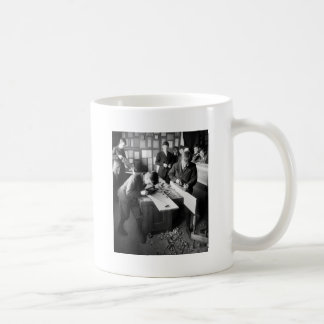 Carpenters In Training early 1900s Coffee Mugs