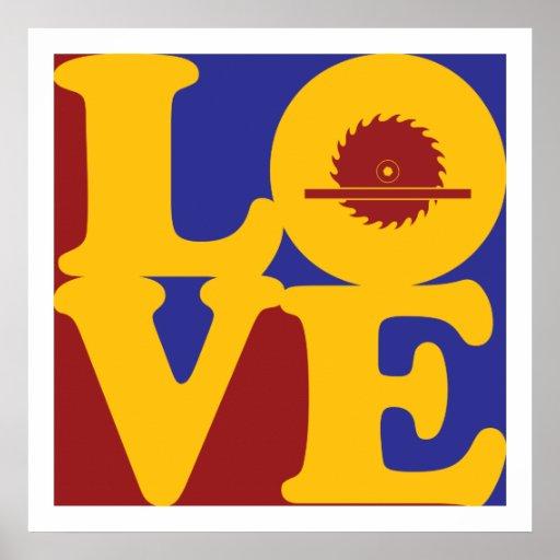 Carpentry Love Print