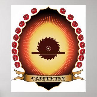 Carpentry Mandorla Print