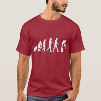 Carpentry woodworking cabinetmakers evolution T-Shirt
