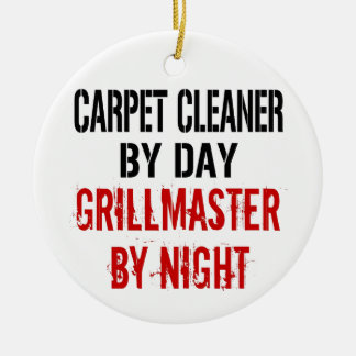 Carpet Cleaner Grillmaster Christmas Ornament