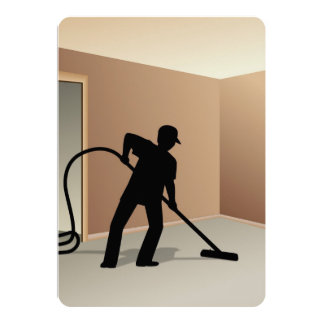 Carpet Cleaning 13 Cm X 18 Cm Invitation Card