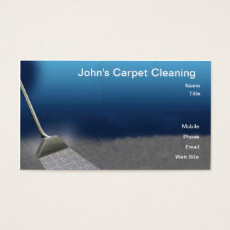 Carpet-Cleaning Business Card