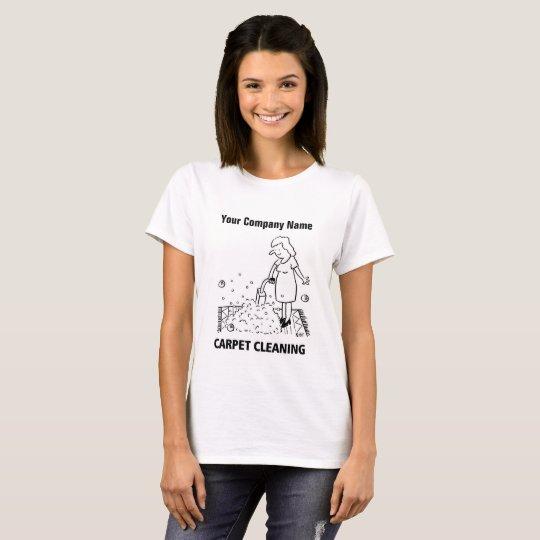 Carpet Cleaning Cartoon T-Shirt