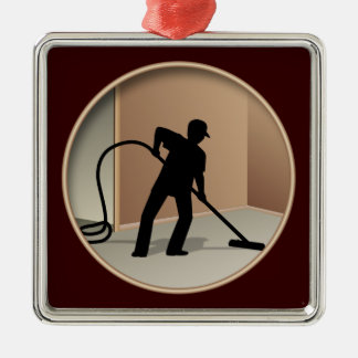 Carpet Cleaning Christmas Ornament