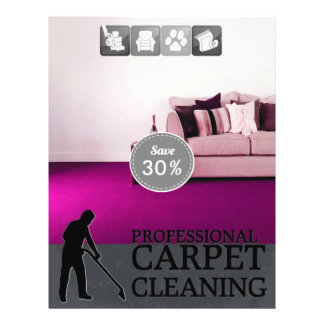 Carpet Cleaning Service Discount Offer Flyer