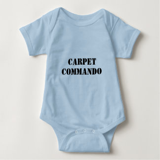CARPET, COMMANDO BABY BODYSUIT