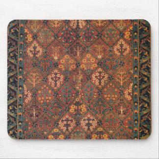 Carpet design mouse pad