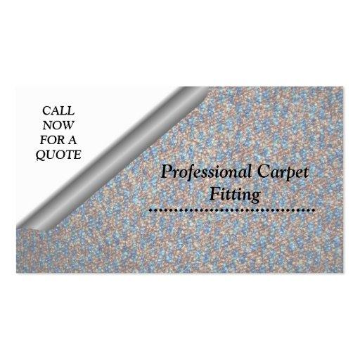 carpet installation business cards. carpet fitting business cards installation