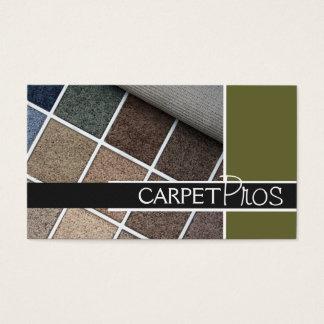 Carpet, Flooring, Construction Business Card