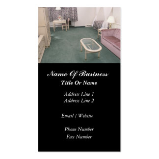 Carpet Installation Business Card