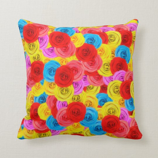 Carpet of Roses Cushion