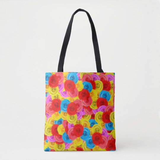 Carpet of Roses Tote Bag
