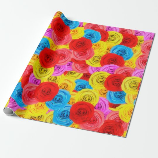 Carpet of Roses Wrapping Paper