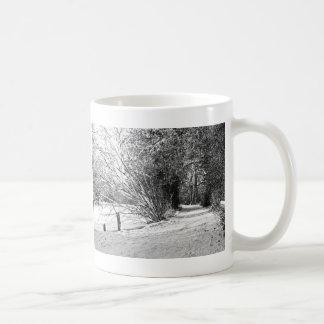carpet of snow coffee mug