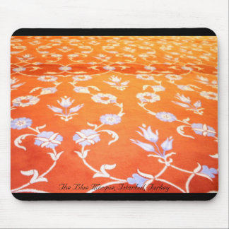 Carpet of The Blue Mosque, Istanbul, Turkey Mouse Pad