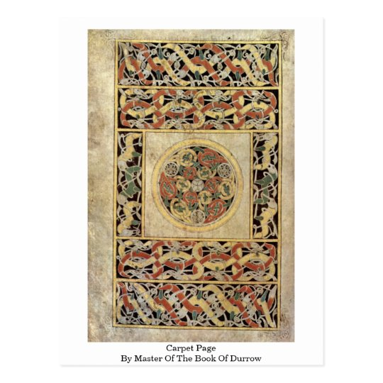 Carpet Page By Master Of The Book Of