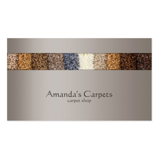 Carpet Cleaning Business Cards Designs