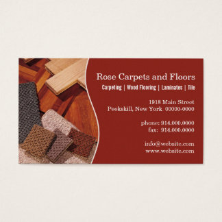 Carpets and Floors Business Card