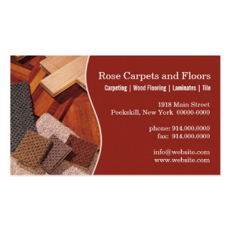 Carpets and Floors Business Cards