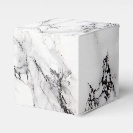 Carrara Marble Favour Box